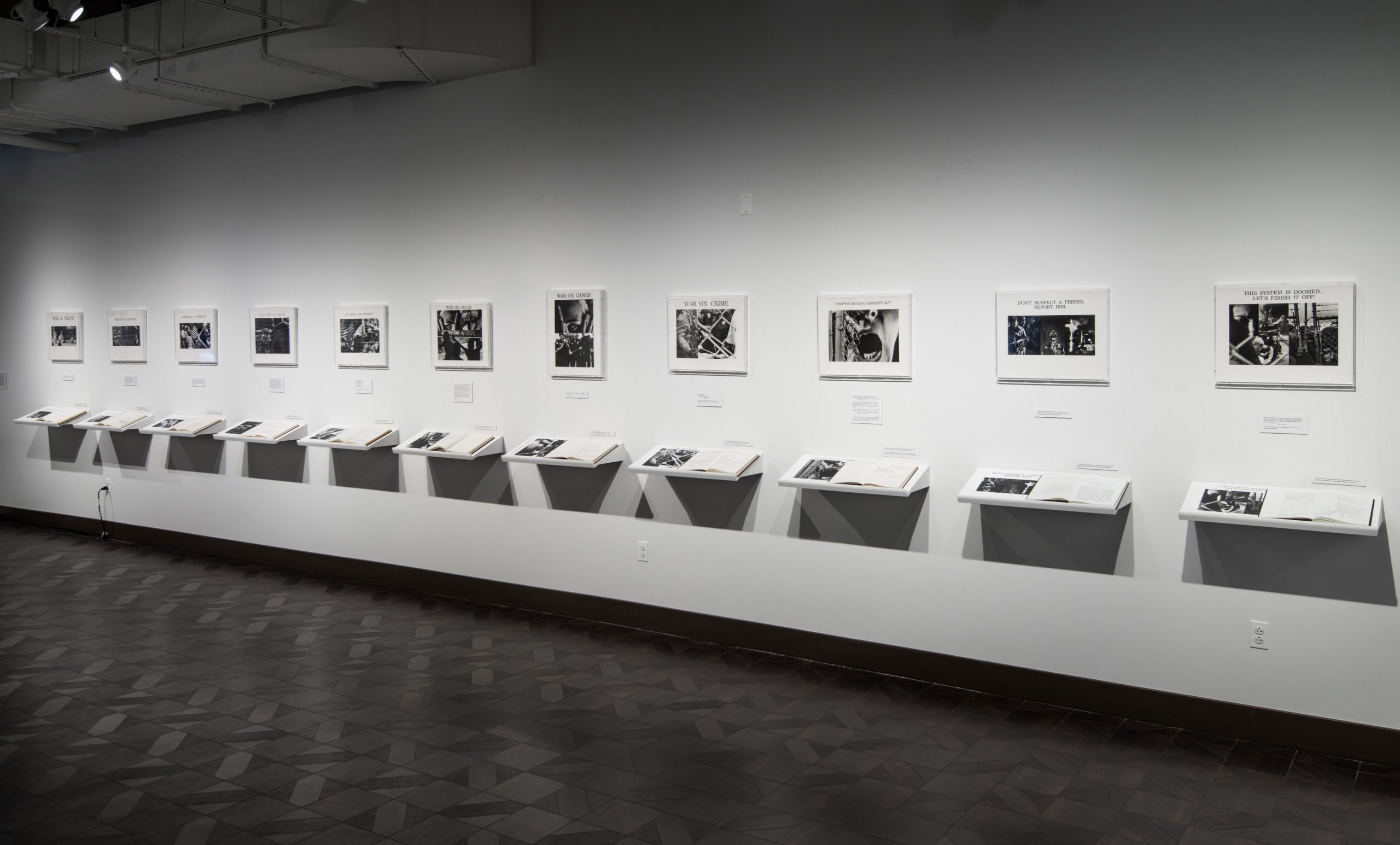 American Newspeak…Please Feel Free (installation shot)