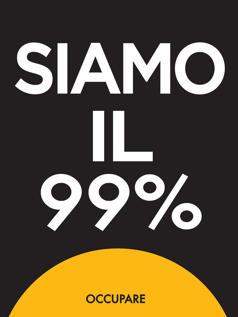 We are the 99%, Italian