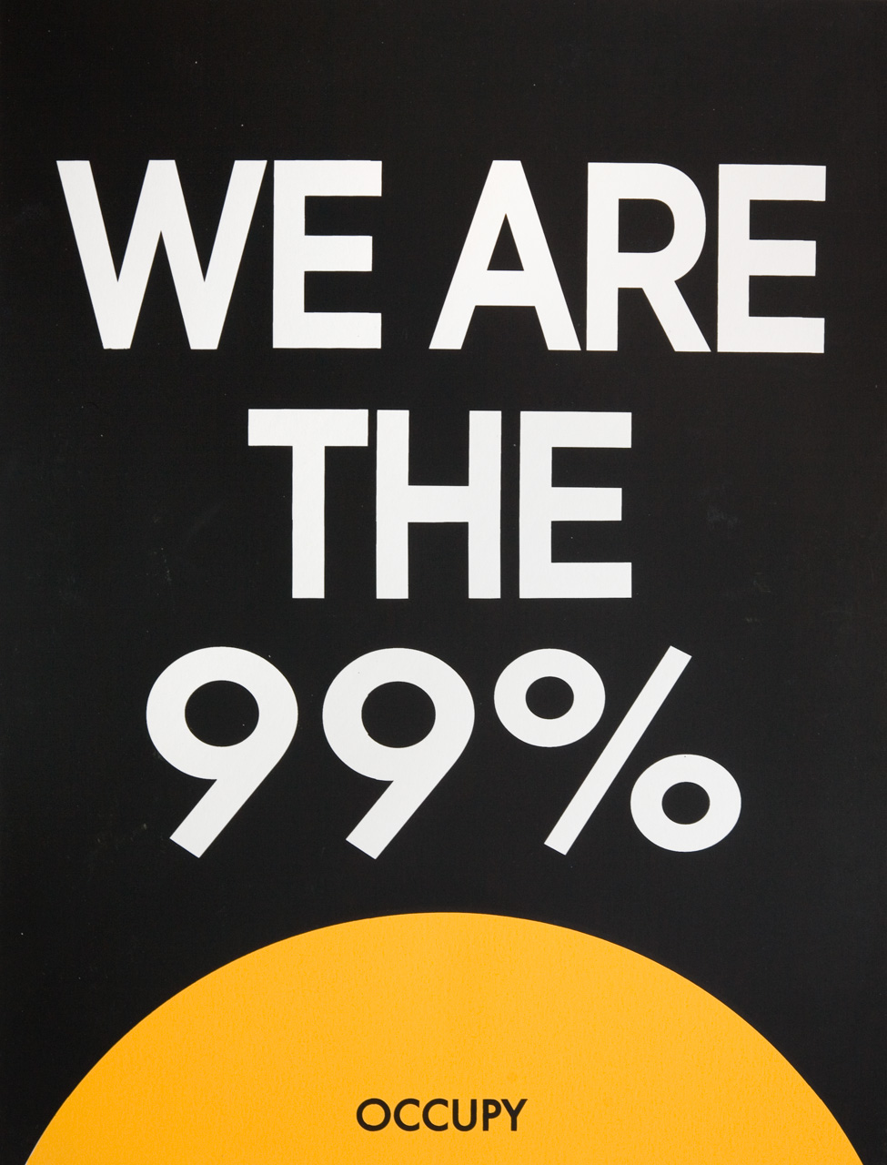 We are the 99%, English